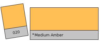 Lee Colour Filter 020 Med. Amber
