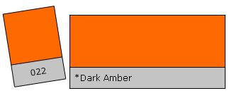 Lee Colour Filter 022 Dark Amber