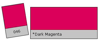 Lee Colour Filter 046 Dark Magenta