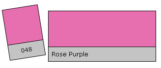 Lee Colour Filter 048 Rose Purple