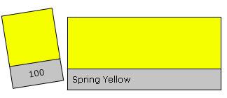 Lee Colour Filter 100 Spri. Yellow