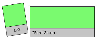 Lee Colour Filter 122 Fern Green