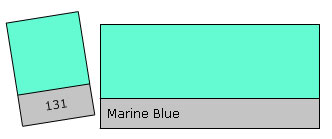 Lee Colour Filter 131 Marine Blue