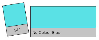 Lee Colour Filter 144 N.C. Blue