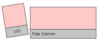 Lee Colour Filter 153 Pale Salmon