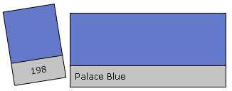 Lee Colour Filter 198 Palace Blue