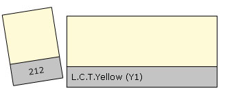 Lee Colour Filter 212 L.C.T.Yellow