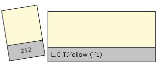 Lee Colour Filter 212 L.C.T.Yellow