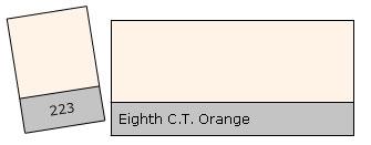 Lee Colour Filter 223 E.C.T.Orange