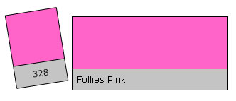 Lee Colour Filter 328 Follies Pink