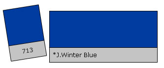 Lee Colour Filter 713 J.Wint. Blue