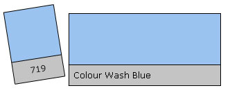 Lee Colour Filter 719 Co.Wash Blue