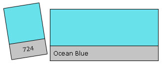 Lee Colour Filter 724 Ocean Blue