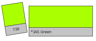 Lee Colour Filter 738 JAS Green