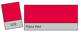 LEE Filter Roll 029 Plasa Red