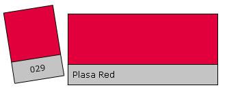 Lee Filter Roll 029 Plasa Red