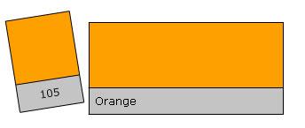 Lee Filter Roll 105 Orange