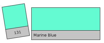 LEE Filter Roll 131 Marine Blue