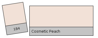 Lee Filter Roll 184 Cosmetic Peach