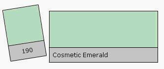 Lee Filter Roll 190 Cosm. Emerald