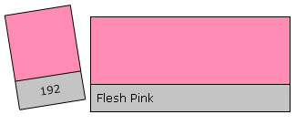 Lee Filter Roll 192 Flesh Pink