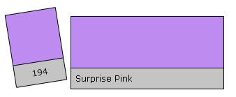 Lee Filter Roll 194 Surprise Pink