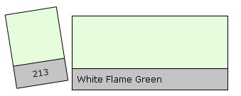Lee Filter Roll 213 Wh.Flame Green