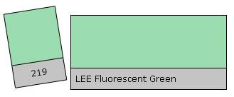 Lee Filter Roll 219 Fluor. Green