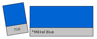 Lee Filter Roll 716 Mikkel Blue