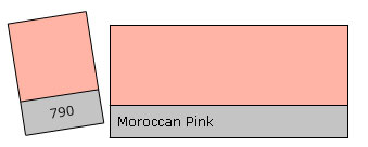 Lee Filter Roll 790 Moroccan Pink