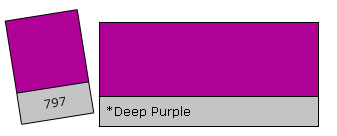 Lee Filter Roll 797 Deep Purple