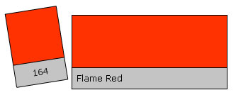 Lee Filter Roll 164 Flame Red