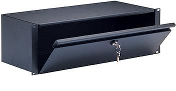 K&M 49103 Rackmount Lockbox 3U