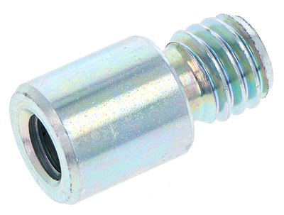 "K&M 219 Thread Adapter 3/8"" - 1/2"""