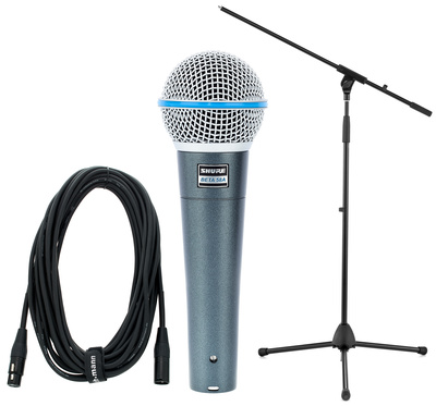 Shure Beta 58 A Stativ+Kabel Bundle