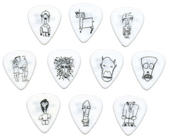 Planet Waves 1CWH6-10JS Pick Set