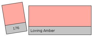 Lee Filter Roll 176 Loving Amber