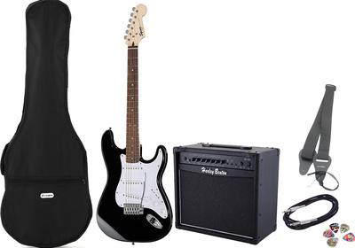 Fender Squier Bullet Strat BK Set 1