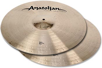 "Anatolian 12"" Hi-Hat Power Baris Series"