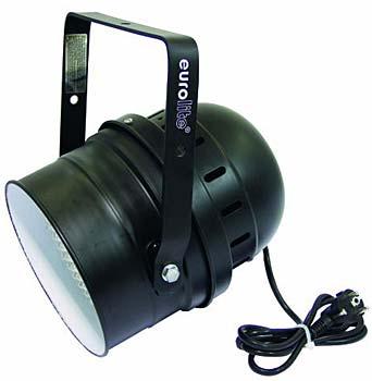 Eurolite LED PAR64 RGB 10 mm Black