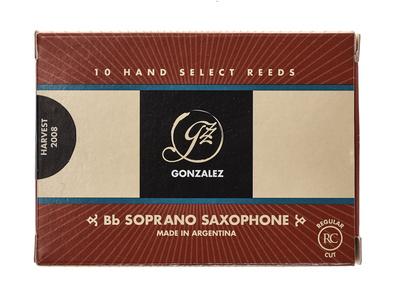 Gonzalez Soprano Sax 4 Reed