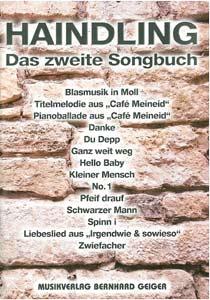 Musikverlag Geiger Haindling Das 2. Songbuch
