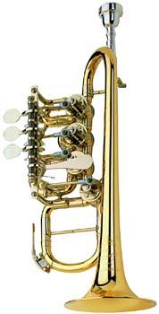 Johannes Scherzer 8112-L High Bb/A-Trumpet