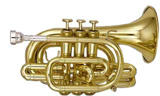 Kanstul CCT 905 Bb- Pocket Trumpet