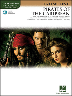 Hal Leonard Pirates Of The Caribbean Tromb
