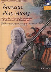 Schott Baroque Play-Along Flute