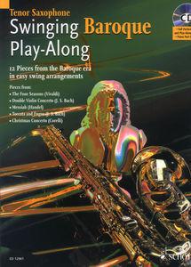Schott Swinging Baroque Play T-Sax