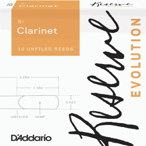 Daddario Woodwinds Reserve Evolution Clarinet 4,5