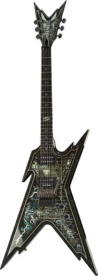 Dean Guitars Razorback Cemetery Gates