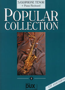 Edition Dux Popular Collection 9 T-Sax+P